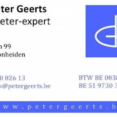 Landmeter Peter Geerts